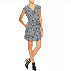 """Diane Von Furstenberg """"Lilac"""" Floral Silk Dress"""